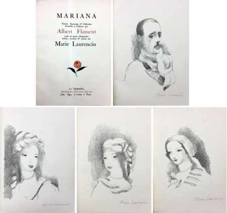Illustriertes Buch Laurencin - Albert Flament : MARIANA (1932)