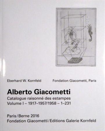 Illustriertes Buch Giacometti - Alberto Giacometti. Catalogue Raisonné Des Estampes.