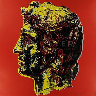 Siebdruck Warhol - Alexander The Great (Fs Ii.292)