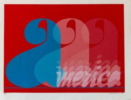 Siebdruck Brusca - America