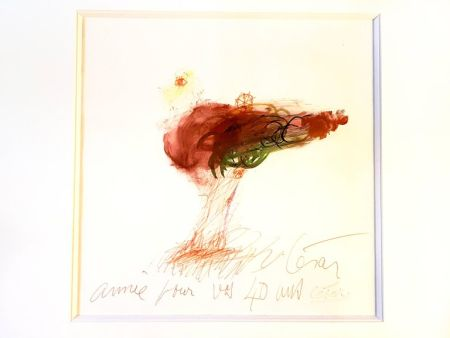 Lithographie Cesar - Amitié
