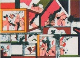 Lithographie Guinovart - Amsterdam N°2