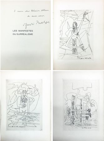 Illustriertes Buch Matta - André Breton : Les Manifestes du Surréalisme suivis de Prolégomènes à un troisième manifeste du surréalisme ou non. Avec 3 pointes-sèches de Matta
