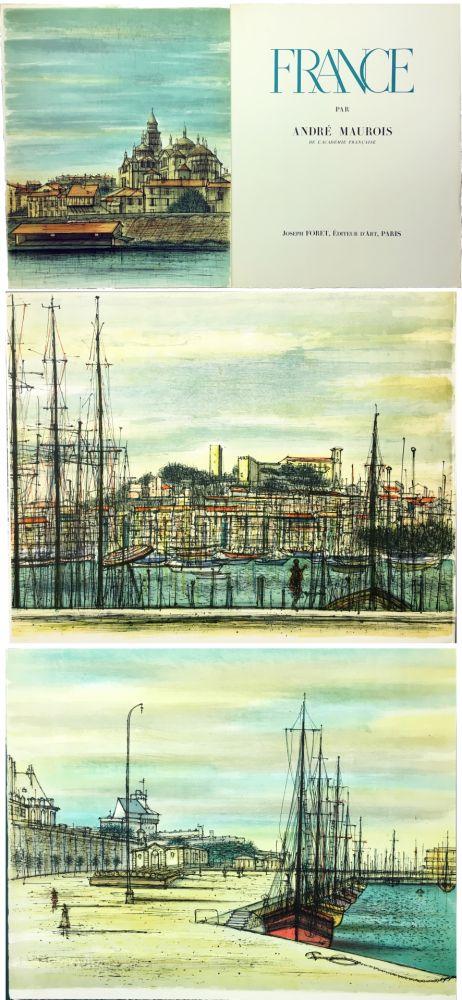 Illustriertes Buch Carzou - André Maurois : FRANCE (1959)