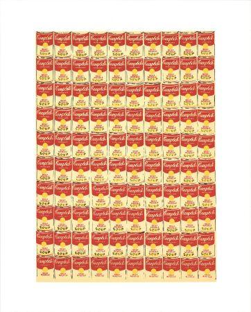 Siebdruck Warhol - Andy Warhol '100 Cans' 1991 Original Pop Art Poster