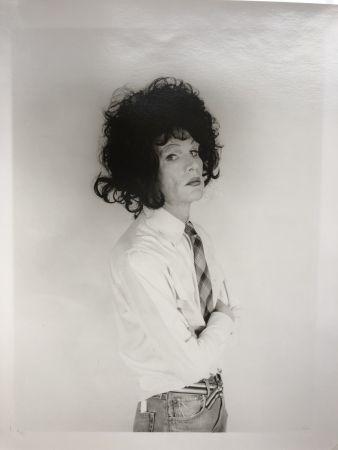 Fotografie Makos - Andy Warhol, dark wig (Altered Images)
