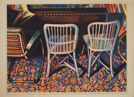 Aquatinta Nesbitt - Andy Warhol's Studio