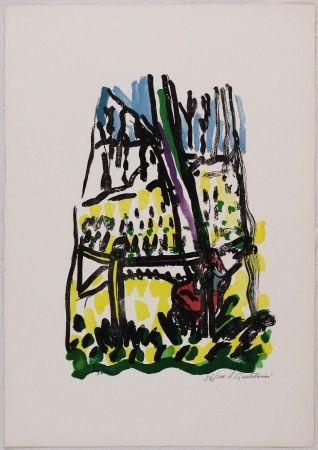 Lithographie Bartolini - Anna nei boschi