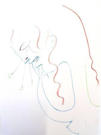 Lithographie Cocteau - Antigone