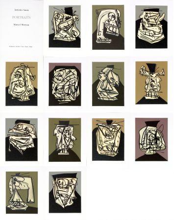 Keine Technische Saura - Antonio Saura/Portrait/Marcel Moreau/Edtions Atelier Clot