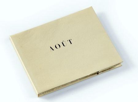 Illustriertes Buch Braque - Aout