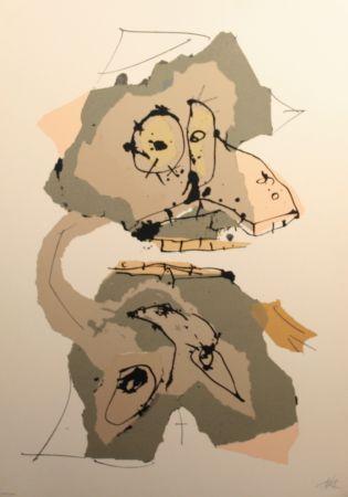 Siebdruck Saura - Aphorismos De Lichteberg