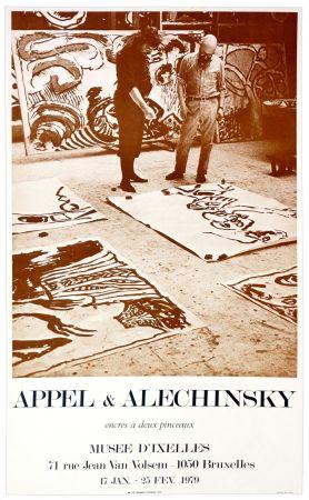 Plakat Alechinsky - Appel & Alechinsky, encres à deux pinceaux, 1979