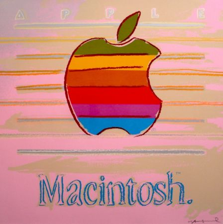 Siebdruck Warhol - Apple Macintosh FS II.359