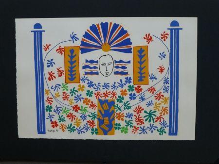 Lithographie Matisse - Appolon