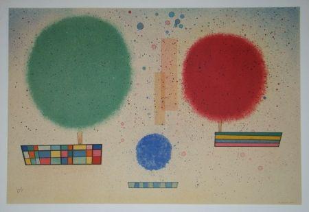 Lithographie Kandinsky - Aquarelle, 1932