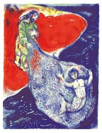 Lithographie Chagall - Arabian Nights