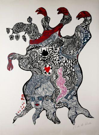Siebdruck De Saint Phalle - Arbre aux Serpents