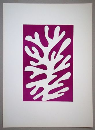 Lithographie Matisse - Arbre De Neige