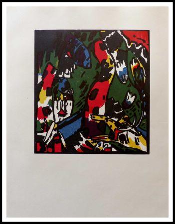 Holzschnitt Kandinsky - ARCHER