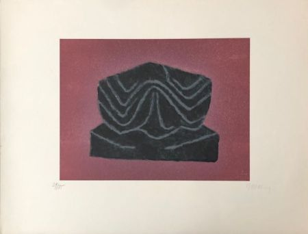 Lithographie Ubac - Ardoise