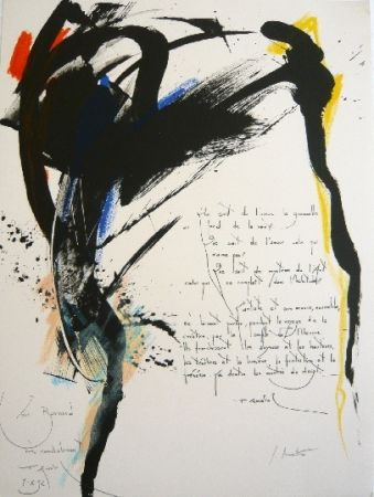 Lithographie Miotte - Arrabal