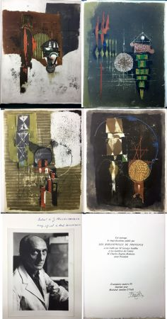 Illustriertes Buch Friedlaender - Arthur Rimbaud. LES ILLUMINATIONS. Les Bibliophiles de Provence 1979