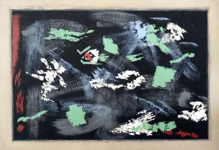 Lithographie Masson - Arthur Rimbaud : Une saison en Enfer