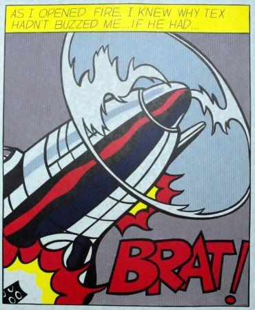 Plakat Lichtenstein - As I opened fire