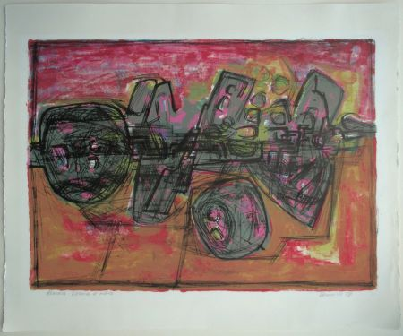 Lithographie Corneille - Asmara