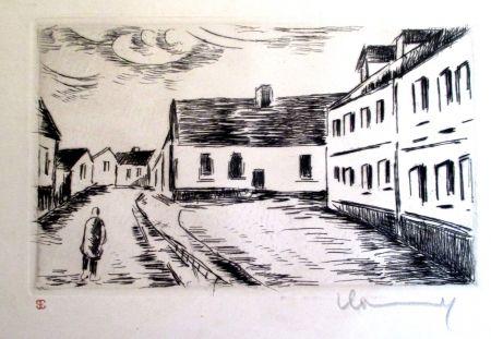 Stich Vlaminck - Aspect de la Grand rue, Visage des Maisons II
