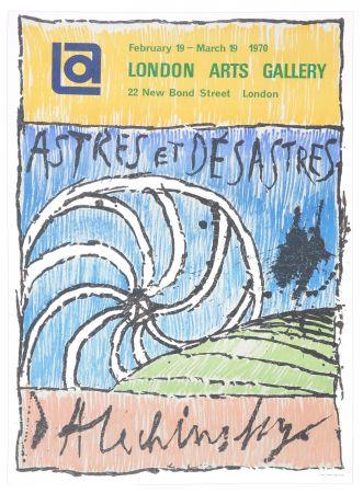 Plakat Alechinsky - Astres et Désastres, 1970