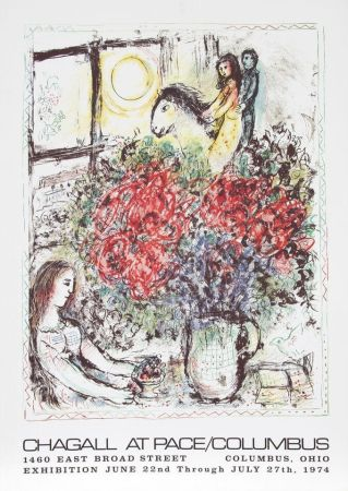 Siebdruck Chagall - At/pace/colombus