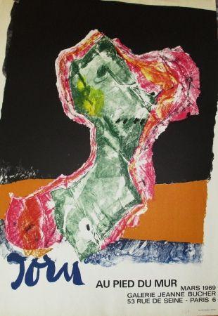 Plakat Jorn - Au pied du mur