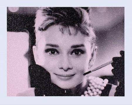 Siebdruck Young - Audrey Hepburn