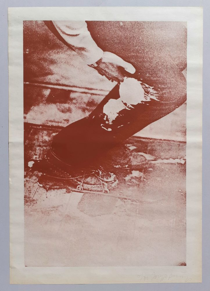 Siebdruck Beuys - Aus Eurasienstab
