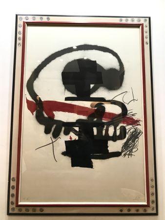 Lithographie Tàpies - Ausstellung Tàpies - Milano