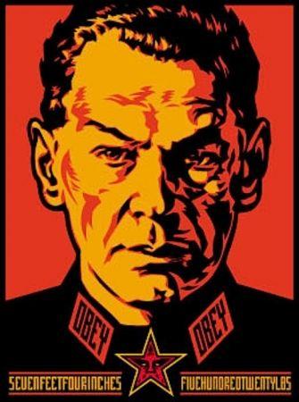 Siebdruck Fairey - Authoritarian