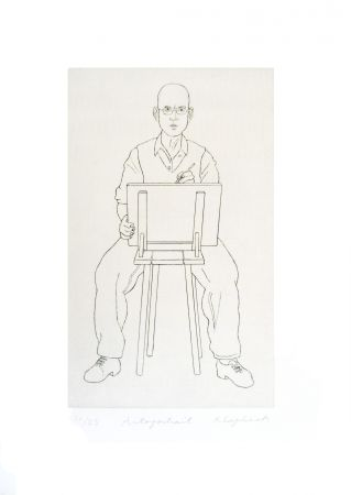 Stich Klapheck - Autoportrait