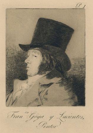 Stich Goya - Autorretrato
