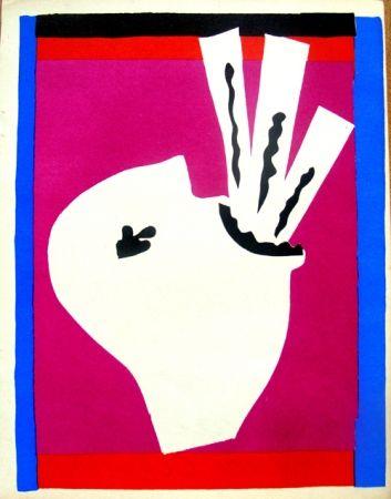Lithographie Matisse - Avaleur De Sabres De La Serie Jazz