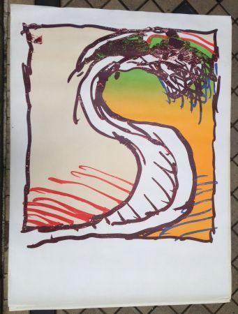 Lithographie Alechinsky - Avant la lettre