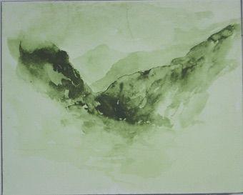 Siebdruck Buraglio - Avec Delacroix, en Chine