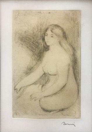 Stich Renoir - BAIGNEUSE ASSISE (D., S. 11)