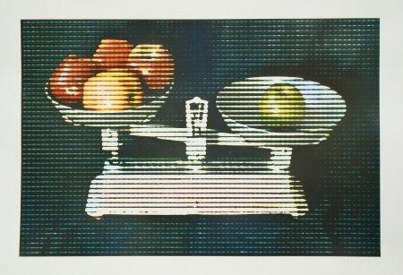 Radierung Und Aquatinta Jacquet - Balance et fruits