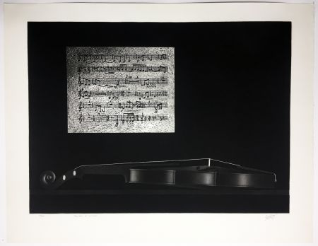 Mezzotinto Avati - Ballade et Violon (1964)