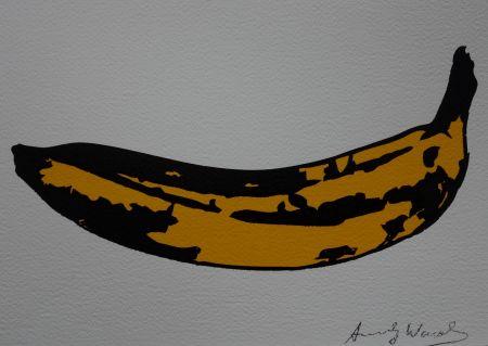 Siebdruck Warhol (After) - Banana