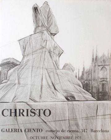 Plakat Christo - '' Barcelona ''