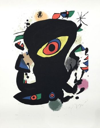 Lithographie Miró - Barcelona