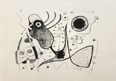 Lithographie Miró - Barcelone XXXXIX (M. 54)